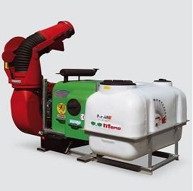 maquinaria cañon depósitos 1000, 2000, 3000 litros